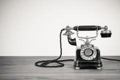 Téléphone antique Photo libre de droits