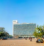 Téléphone Aviv City Hall Photographie stock libre de droits