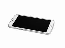 Téléphone intelligent blanc Photo stock