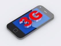 téléphone portable 3g intelligent Photo libre de droits