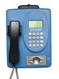 Téléphone public Photos stock