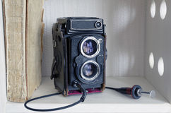 TLR camera Royalty Free Stock Photos