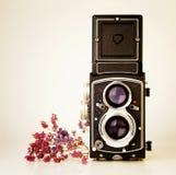 Tlr de la cámara del vintage Imagen de archivo libre de regalías