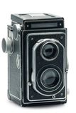 Tlr photo camera Royalty Free Stock Photo