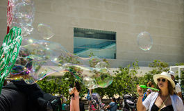 TLV Bubbles Parade Stock Images