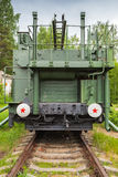 TM-1-180 Railway Gun, front view Royalty Free Stock Images