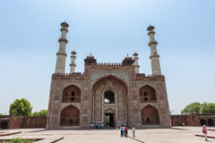 Túmulo de Akbar o grande Fotografia de Stock Royalty Free