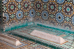 Túmulos de Saadian, C4marraquexe, Marrocos Fotos de Stock