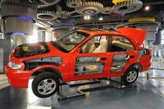Tmystery dos automóveis - a estrutura Foto de Stock Royalty Free