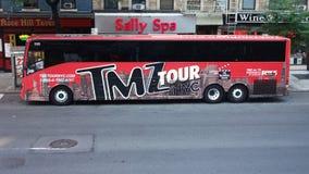 TMZ turnerar bussen Royaltyfria Foton
