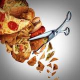 Tnące kalorie ilustracja wektor