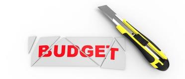 Tnący budżet Obraz Royalty Free