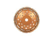 Tnący dyski z diamentami - Diamentowi dyski dla betonu odizolowywającego na białym tle Fotografia Stock