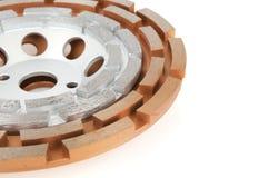 Tnący dyski z diamentami - Diamentowi dyski dla betonu odizolowywającego na białym tle Obraz Royalty Free