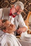 tnący fryzjer męski wąsy Fotografia Stock