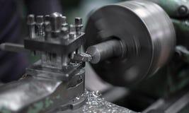 tnący maszynowy metal Obrazy Stock