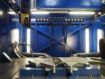 Tnący narzędzie w kosmicznym przemysle Zdjęcia Royalty Free