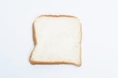 tnący pszeniczny chleb odizolowywający Zdjęcia Stock