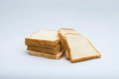 tnący pszeniczny chleb odizolowywający Obrazy Royalty Free