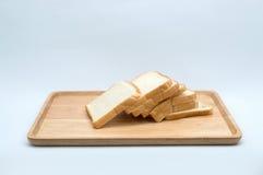 tnący pszeniczny chleb odizolowywający Zdjęcia Royalty Free