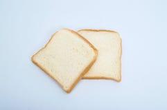tnący pszeniczny chleb odizolowywający Zdjęcie Royalty Free