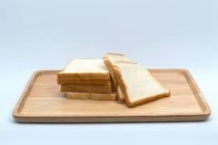 tnący pszeniczny chleb odizolowywający Obrazy Stock