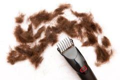 tnący włosy zdjęcie stock