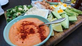 Tnąca deska zdrowy jedzenie zdjęcia stock