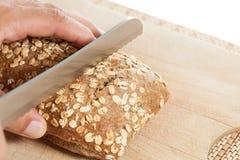 Tnący chleb Zdjęcie Stock