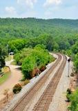 TN linia kolejowa Zdjęcia Stock