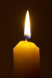 Tända stearinljuset Fotografering för Bildbyråer