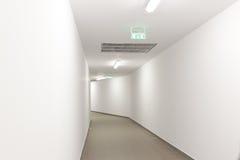 Túnel de la emergencia Fotografía de archivo
