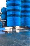 Túnel de lavado Imagen de archivo libre de regalías