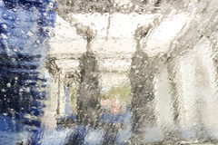 Túnel de lavado Fotografía de archivo