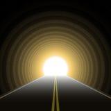 Túnel del coche. Vector. Fotografía de archivo