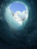 Túnel del hielo Imagen de archivo libre de regalías