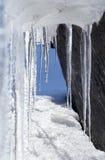 Túnel do gelo Fotografia de Stock Royalty Free