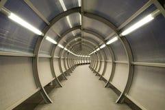 Túnel futurista Fotografía de archivo libre de regalías