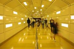 Túnel peatonal Foto de archivo