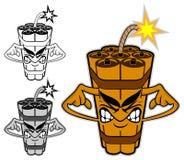 TNT χαρακτήρας κινουμένων σχεδίων 2 Στοκ Εικόνα