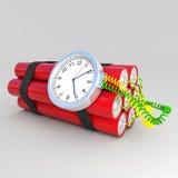 Tnt bomb. 3d image of time bomb Stock Photo