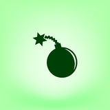 TNT bomby ikona Obraz Stock