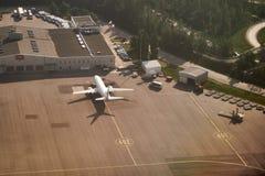 TNT Express-Anschluss in Helsinki Vanda Airport lizenzfreies stockfoto