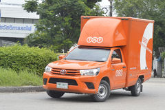TNT Express Parcel Delivery Service Pickup truck Royalty Free Stock Images