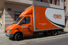 TNT Express Royalty Free Stock Images