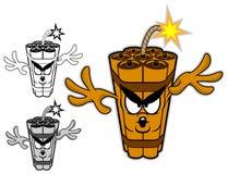 TNT postać z kreskówki ilustracji