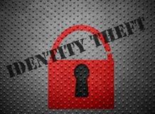 Tożsamości kradzieży kędziorek fotografia stock