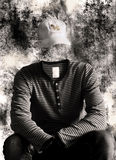tożsamości portreta nieznane Zdjęcie Royalty Free