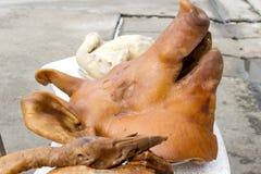 to świnia głowy Fotografia Royalty Free