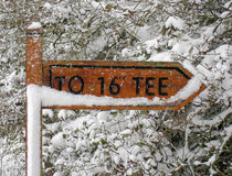 To 16th tee Stock Images